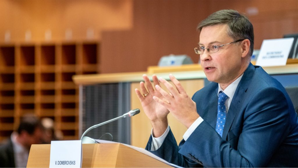 Dombrovskis Photo European Parliament