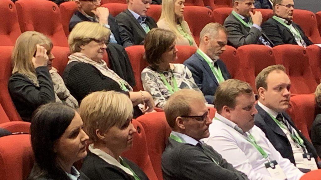 Oslo audience