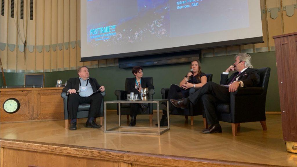 Panel on Finnish post-trade landscape at PostTrade 360 Helsinki
