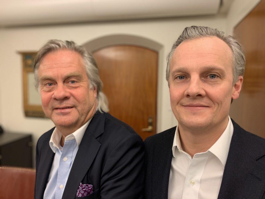 Reducerad2 - SEB Göran Fors o Niklas Nyberg Foto AK