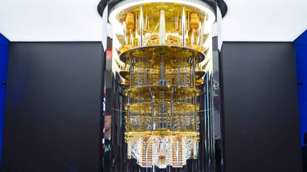 IBM Quantum computer Photo IBM Andrew_Lindemann