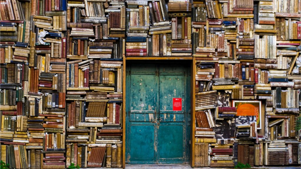 Books as if a trade repository Photo Eugenio Mazzone Unsplash