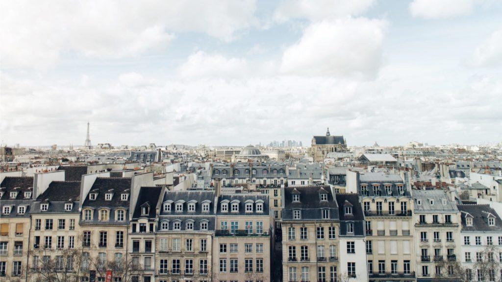 Paris housing as in Societe Generale SFH blockchain bond issue