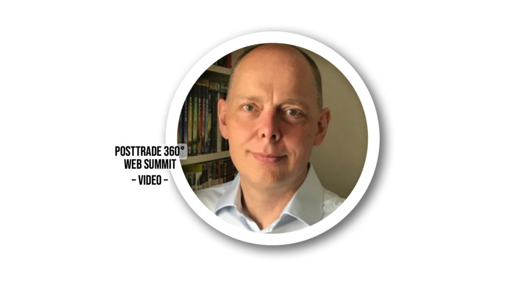Tomi Ojavuo spoke at the PostTrade 360° Web Summit on 3 June 2020.