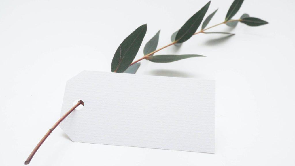 White label. (Photo: Helena Hertz / Unsplash)