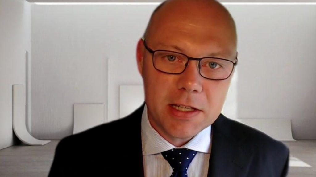 Harald Harlem, KLP Kapitalforvaltning, in PostTrade 360 Oslo 2020.