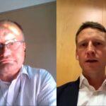 Heiko Cassens and Gabriel Vimberg, at PostTrade 360° Copenhagen.