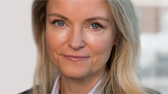 Maria Hjorth, CEO of Euronext VP Securities.