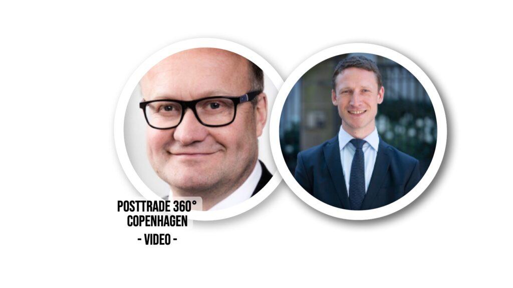 Heiko Cassens and Gabriel Vimberg, at PostTrade 360 Copenhagen