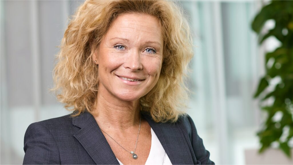 Tina Nylund, COO of Sweden's AP7.