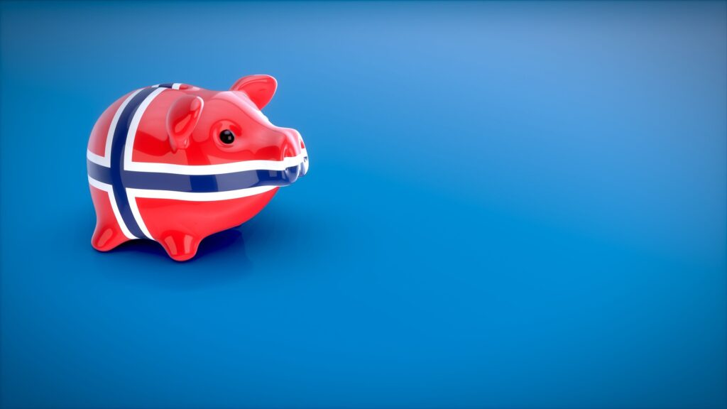 Norway Piggy bank as in CBDC.