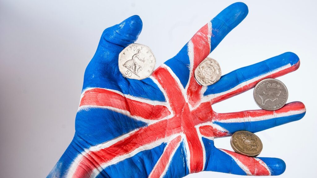 UK pounds, now more easily accessible from the Bank of England.