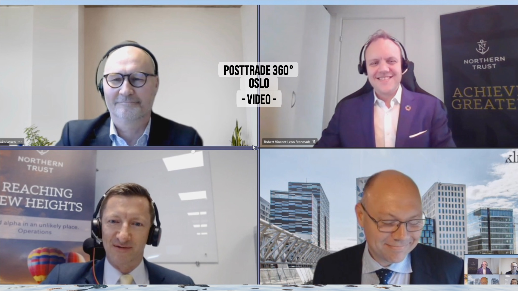 PostTrade 360° Oslo 2021 panel on Norway as fund domicile